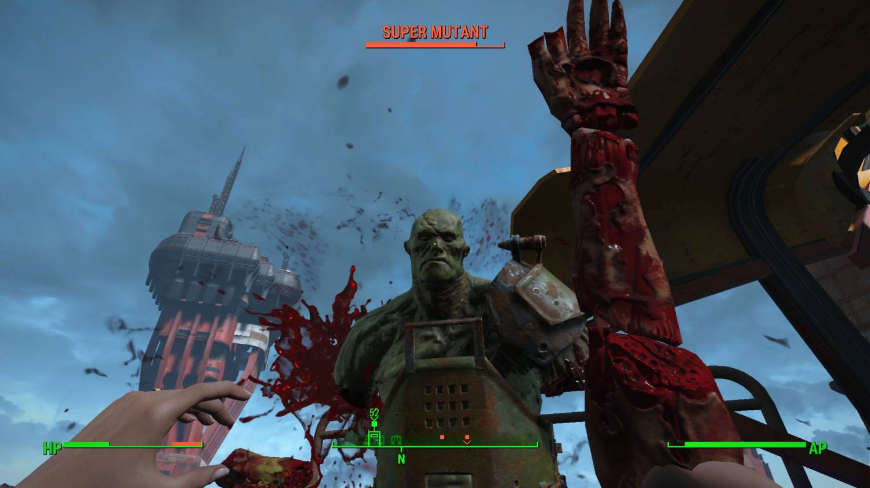 Убить врага его же рукой?или же потом ее прожарить и съесть? для Fallout 4 - Скриншот 3