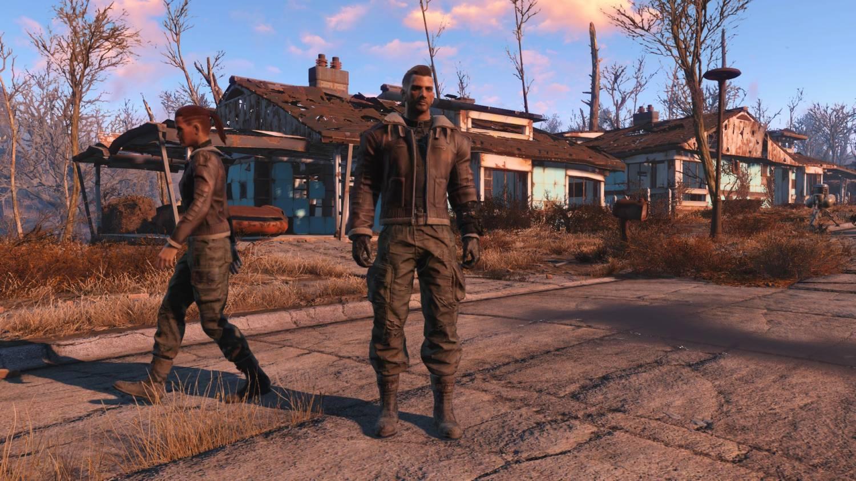 Военные куртки для Fallout 4 - Скриншот 3