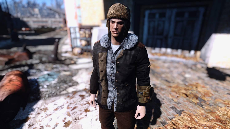 ЗИМНИЕ КУРТКИ 4к HD для Fallout 4 - Скриншот 1