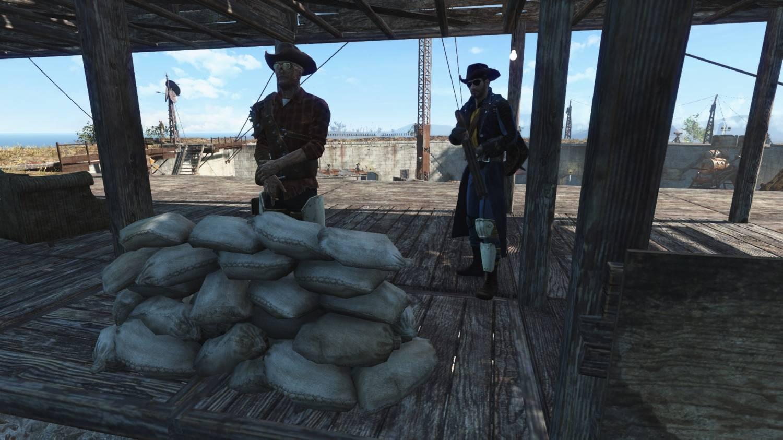 Мешки с песком для обороны для Fallout 4 - Скриншот 2
