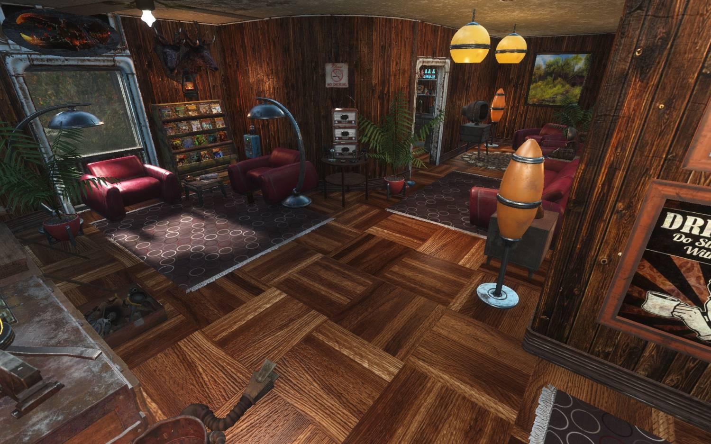 Красную ракету в деревянный дом для Fallout 4 - Скриншот 3