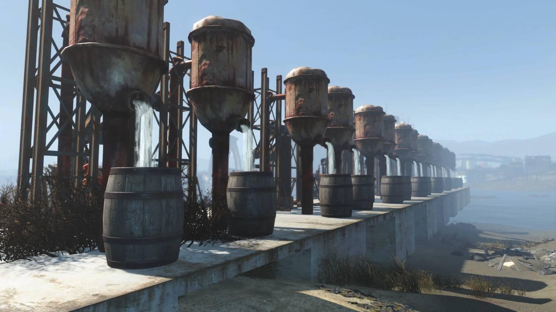 Анимированные скважины для Fallout 4 - Скриншот 3