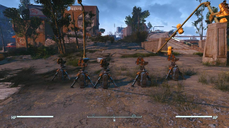 Мобильные турели для Fallout 4 - Скриншот 2