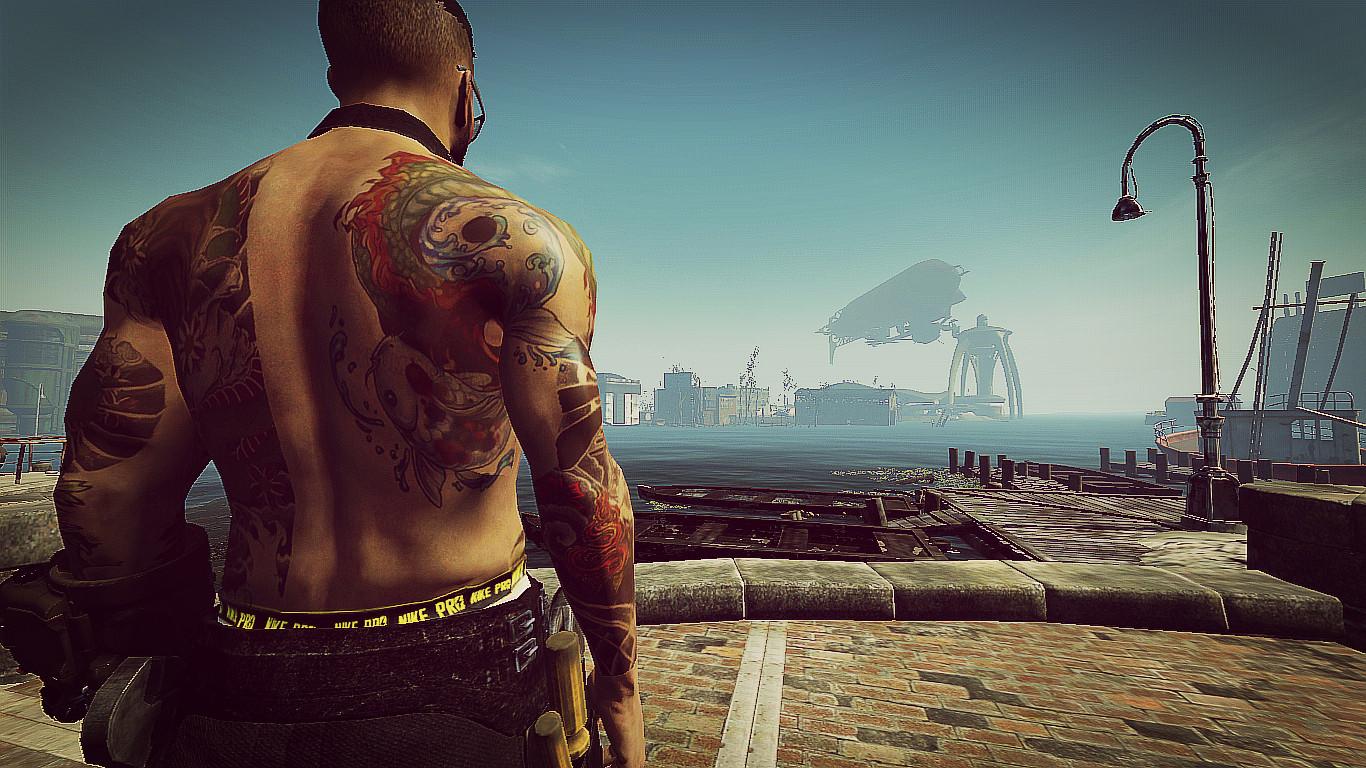 Татуировки якудзы для Fallout 4 - Скриншот 2